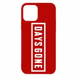 Чехол для iPhone 12/12 Pro Days Gone color logo