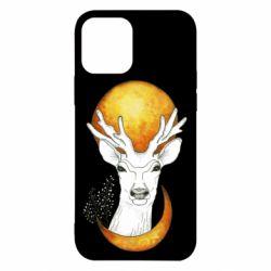 Чехол для iPhone 12/12 Pro Deer and moon