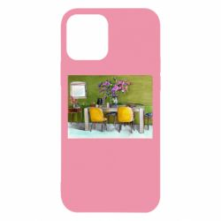Чохол для iPhone 12/12 Pro Dining table with flowers