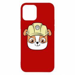Чохол для iPhone 12 Dog in helmet