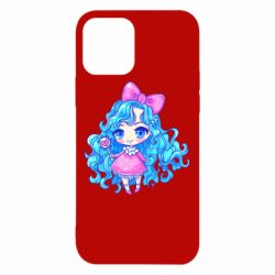 Чохол для iPhone 12/12 Pro Doll with blue hair