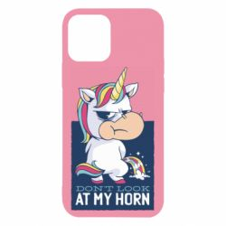 Чохол для iPhone 12 Don't look at my horn