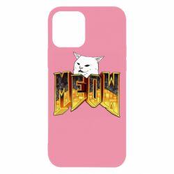 Чохол для iPhone 12 Doom меов cat