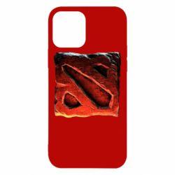 Чехол для iPhone 12/12 Pro Dota 2 3d Logo