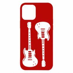 Чохол для iPhone 12/12 Pro Дві гітари