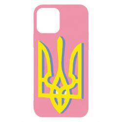 Чехол для iPhone 12/12 Pro Двокольоровий герб України