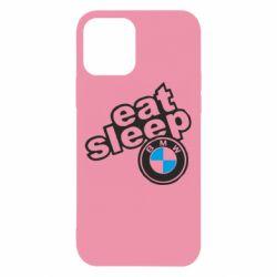 Чохол для iPhone 12/12 Pro Eat, sleep, BMW