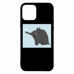 Чохол для iPhone 12/12 Pro Elephant and snowflakes