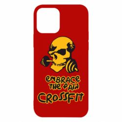 Чехол для iPhone 12/12 Pro Embrace the pain. Crossfit