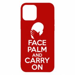 Чехол для iPhone 12/12 Pro Face palm and carry on