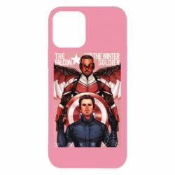 Чохол для iPhone 12/12 Pro Falcon and the Winter Soldier Art