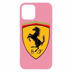 Чехол для iPhone 12 Ferrari