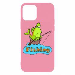 Чехол для iPhone 12/12 Pro Fish Fishing