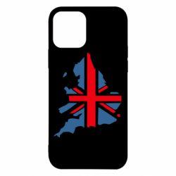 Чехол для iPhone 12 Флаг Англии