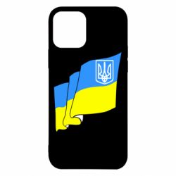 Чехол для iPhone 12/12 Pro Флаг Украины с Гербом