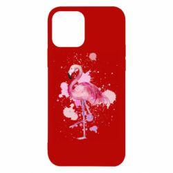 Чехол для iPhone 12/12 Pro Flamingo pink and spray