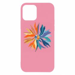 Чохол для iPhone 12 Flower coat of arms of Ukraine