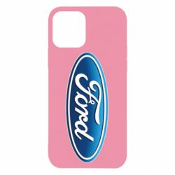 Чехол для iPhone 12/12 Pro Ford 3D Logo