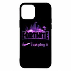 Чохол для iPhone 12/12 Pro Fortnite just play it
