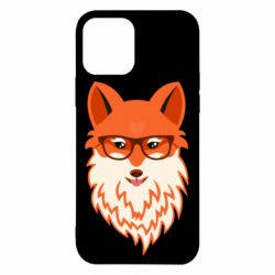 Чехол для iPhone 12/12 Pro Fox with a mole in the form of a heart
