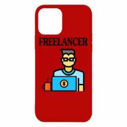 Чехол для iPhone 12/12 Pro Freelancer text