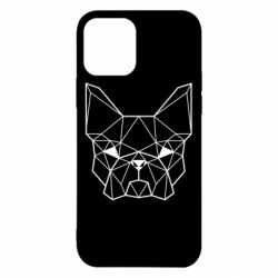 Чехол для iPhone 12/12 Pro French Bulldog Art