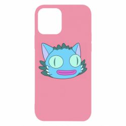 Чехол для iPhone 12/12 Pro Funny cat from Rick and Morty season 4