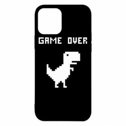 Чехол для iPhone 12/12 Pro Game over dino from browser