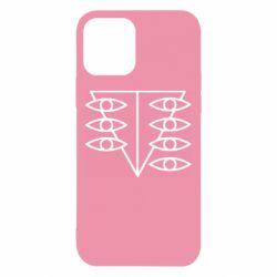 Чехол для iPhone 12/12 Pro Genesis Evangelion Seele logo