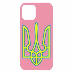 Чохол для iPhone 12/12 Pro Герб України (двокольоровий)