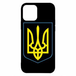 Чехол для iPhone 12/12 Pro Герб України з рамкою