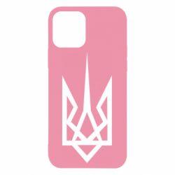 Чехол для iPhone 12/12 Pro Герб України загострений