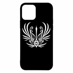Чохол для iPhone 12/12 Pro Герб України у вигляді арфи