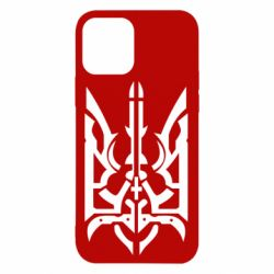 Чохол для iPhone 12/12 Pro Герб з металевих частин