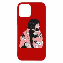 Чехол для iPhone 12/12 Pro Girl with a square