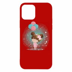 Чехол для iPhone 12/12 Pro Girl with balloons