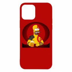 Чохол для iPhone 12/12 Pro God of war: Simpson