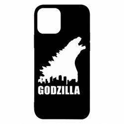 Чохол для iPhone 12/12 Pro Godzilla and city