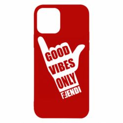 Чехол для iPhone 12/12 Pro Good vibes only Fendi