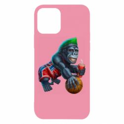 Чохол для iPhone 12/12 Pro Gorilla and basketball ball