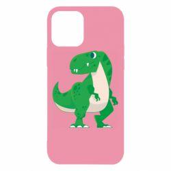 Чохол для iPhone 12/12 Pro Green little dinosaur