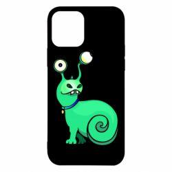 Чехол для iPhone 12/12 Pro Green monster snail