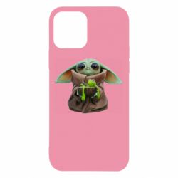 Чохол для iPhone 12/12 Pro Grogu and Kermit