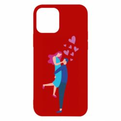 Чохол для iPhone 12/12 Pro Guy and girl happiness