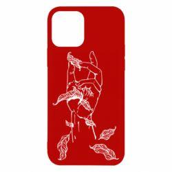 Чохол для iPhone 12 Hand with leafs