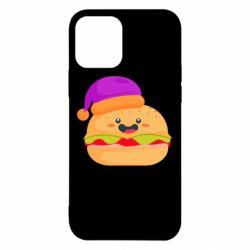 Чехол для iPhone 12/12 Pro Happy hamburger
