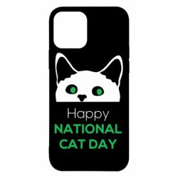 Чехол для iPhone 12/12 Pro Happy National Cat Day
