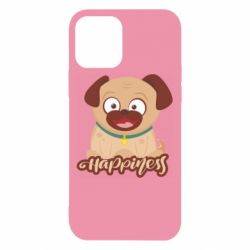 Чехол для iPhone 12/12 Pro Happy pug