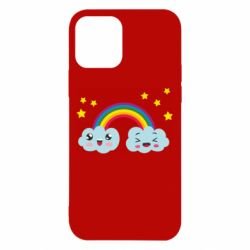 Чехол для iPhone 12/12 Pro Happy rainbow
