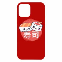 Чехол для iPhone 12/12 Pro Happy sushi